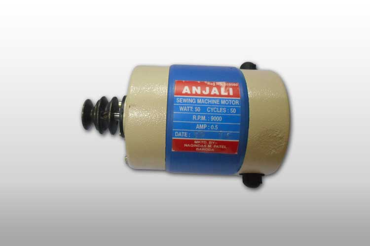 Our sewing machine motor anjali sewing machine supreme for Sewing machine motor manufacturers